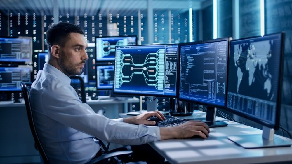 IT security specialist using WHOIS database